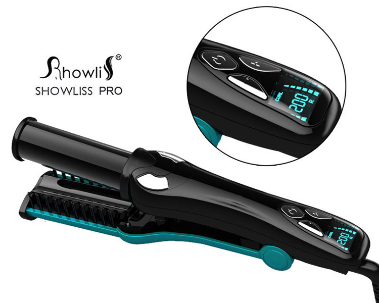 ShowLiss Multifunction Rotating iron Green
