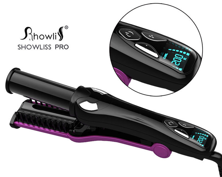 ShowLiss Multifunction Rotating iron Purple