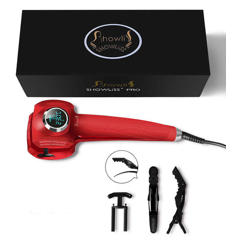 ShowLiss PRO Curl Red