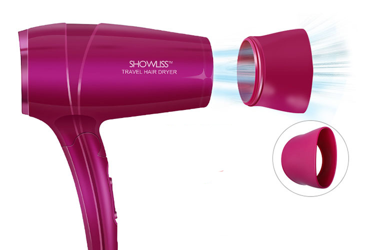 Showliss Pro Bright Purple Deluxe Gift Set